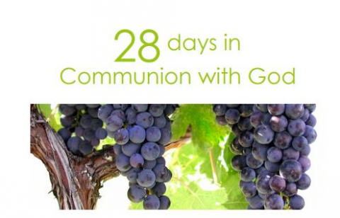 28 days in Communion with God